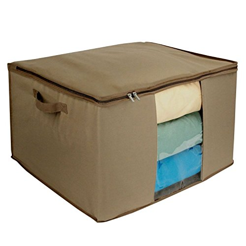 Richards Homewares Cedar Storage Bag- Extra Large – Breathable Canvas – Easy View To ...