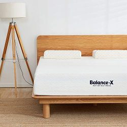 HOFISH 2019 Upgraded Balance-X 10 Inches Responsive Foam Mattress -Lumbar Support & Pressure ...