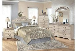 Amazing Buys Catalina Bedroom Set by Ashley Furniture – Includes Queen Bed, Dresser, Mirro ...