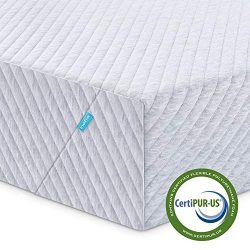 Twin Mattress, Inofia 8 Inch Memory Foam Single Mattress in a Box with Knitted Breathable Cover, ...